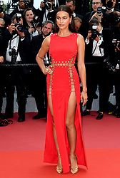 Irina Shayk attending the Sorry Angel Premiere as part of the 71st Cannes Film Festival