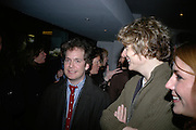 Tom Hollander and Julian Rhind-Tutt,  Tom Hollander and Jonathan Pryce, Tom Cairns directs Almeida Fundraising Benefit sponsored by Coutts and Co. -A Chain Play by Samuel Adamson, Moira Buffini, David Hare, Charlotte Jones, Frank McGuinness and Roy Williams. Almeida theatre. London. 23 March 2007.  -DO NOT ARCHIVE-© Copyright Photograph by Dafydd Jones. 248 Clapham Rd. London SW9 0PZ. Tel 0207 820 0771. www.dafjones.com.