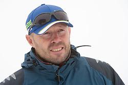 Uros Velepec, coach of Slovenian Men Biathlon Team at Dachstein glacier before new season 2008/2009, Austria, on October 30, 2008.  (Photo by Vid Ponikvar / Sportida)