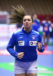 HERNING, DENMARK - DECEMBER 6: Nina Zulic during the EHF Euro 2020 Group A match between Slovenia and France in Jyske Bank Boxen, Herning, Denmark on December 6, 2020. Photo Credit: Allan Jensen/EVENTMEDIA.