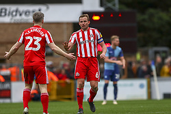 March 9, 2019 - High Wycombe, Buckinghamshire, United Kingdom - Sunderland Lee Cattermole calms Leadbitter after Sunderlands goal during the Sky Bet League 1 match between Wycombe Wanderers and Sunderland at Adams Park, High Wycombe, England  on Saturday 9th March 2019. (Credit Image: © Mi News/NurPhoto via ZUMA Press)