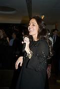 Julie Brangstrup, Make-A-Wish Charity Evening at Selfridges, Selfridges,  400 Oxford St. London. 17 December 2007. -DO NOT ARCHIVE-© Copyright Photograph by Dafydd Jones. 248 Clapham Rd. London SW9 0PZ. Tel 0207 820 0771. www.dafjones.com.