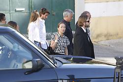 June 27, 2017 - Setubal, Portugal - Funeral of Felix Mourinho, father of Manchester United boss Jose Mourinho. In the image: Jose Mourinho and family (Credit Image: © Atlantico Press via ZUMA Wire)
