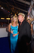 Joely Richardson and Boris Becker, Glamour Magazine's Women of the Year Awards, Berkeley Sq. 8 June 2004. ONE TIME USE ONLY - DO NOT ARCHIVE  © Copyright Photograph by Dafydd Jones 66 Stockwell Park Rd. London SW9 0DA Tel 020 7733 0108 www.dafjones.com