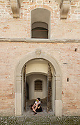 Italy, Marche, Sassocorvaro, Rocca Ubaldinesca