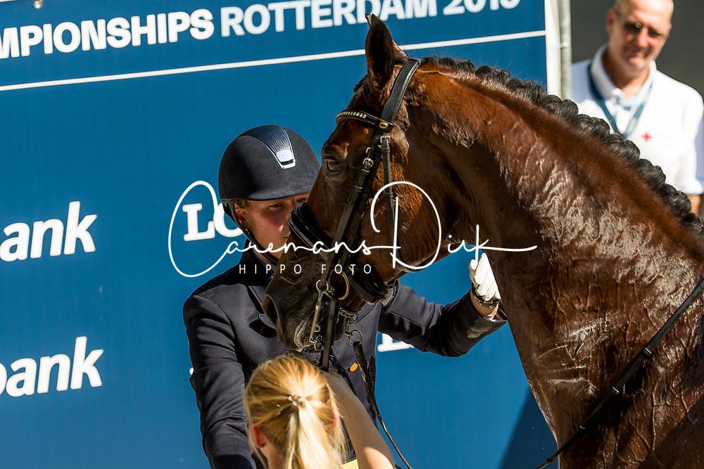 Ruoste Henri, FIN, Rossetti<br /> EC Rotterdam 2019<br /> © Hippo Foto - Sharon Vandeput<br /> 24/08/19