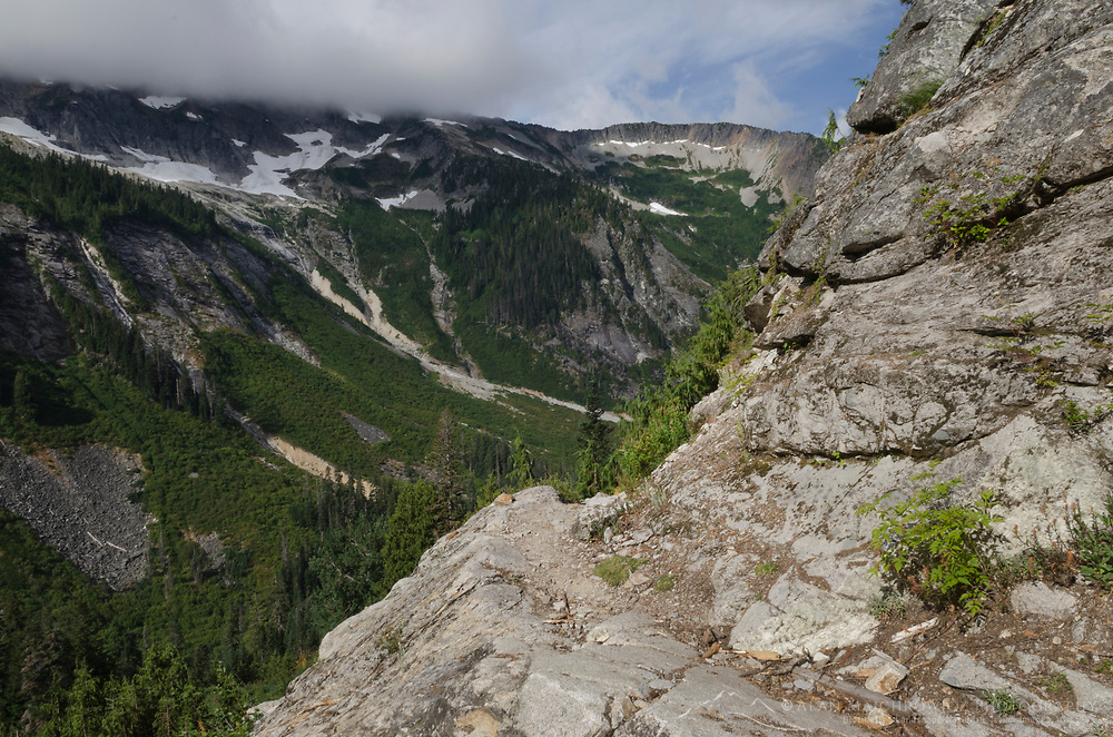 Brush Creek Trail near Whatcom Pass North Cascades National Park