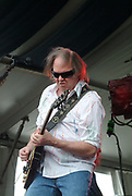 Neil Young at the 2009 New Orleans Jazz Festival.