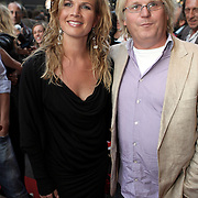 NLD/Amsterdam/20080901 - Premiere film Bikkel over het leven van Bart de Graaff, Annette Barlo en partner Frank Timmer