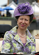 © Licensed to London News Pictures. 21/06/2012. Ascot, UK The Princess Royal attends Ladies Day at Royal Ascot 21st June 2012. Royal Ascot has established itself as a national institution and the centrepiece of the British social calendar as well as being a stage for the best racehorses in the world.. Photo credit : Stephen Simpson/LNP