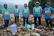 Blockades against the Baram Dam have been a huge success, after years of campaigning and protest, the Baram Dam in Sarawak has now been shelved. Community leaders at site of Baram dam. Baram Sarawak 2015<br /><br />The first of 12 mega-dam projects, was the Bakun Dam, which produced a reservoir of 700 sqkm, the size of Singapore, whose flooding began in 2010 and displaced around 10,000 Kenyah people, in Rajang and Belaga. The second phase at Murum would displace a further 24,000 native people, and Baram some 30,000. This huge development program has been overseen by Sarawak's former Chief Minister, Abdul Taib Mahmud, who is now under investigation by Malaysian authorities for corruption, and who has amassed a personal fortune of more than 35 billion US dollars. <br /><br />Borneo native peoples and their rainforest habitat revisited two decades later: 1989/1991 and 2012/2014/2015. <br /> <br /> Sarawak's primary rainforests have been systematically logged over decades, threatening the sustainable lifestyle of its indigenous peoples who relied on nomadic hunter-gathering and rotational slash & burn cultivation of small areas of forest to survive. Now only a few areas of pristine rainforest remain; for the Dayaks and Penan this spells disaster, a rapidly disappearing way of life, forced re-settlement, many becoming wage-slaves. Large and medium size tree trunks have been sawn down and dragged out by bulldozers, leaving destruction in their midst, and for the most part a primary rainforest ecosystem beyond repair. Nowadays palm oil plantations and hydro-electric dam projects cover hundreds of thousands of hectares of what was the world's oldest rainforest ecosystem which had some of the highest rates of flora and fauna endemism, species found there and nowhere else on Earth, and this deforestation has done irreparable ecological damage to that region