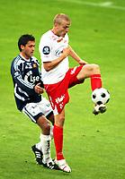 Fotball Tippeliga<br /> Viking Stadion 070708<br /> Viking - Fredrikstad<br /> Foto: Sigbjørn Andreas Hofsmo, Digitalsport<br /> <br /> Gardar Johansson