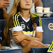 Fenerbahce's supporters during their UEFA Champions League Play-Offs, 2nd leg soccer match Fenerbahce between Spartak Moscow at Sukru Saracaoglu stadium in Istanbul Turkey on Wednesday 29 August 2012. Photo by TURKPIX
