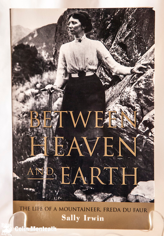 BETWEEN HEAVEN AND EARTH - Sally Irwin, White Crane Press, 2000, 380 page softbound, B&W plates - excellent biography of Australian climber Freda Du Faur and her climbs in The Southern Alps of New Zealand. $NZ45