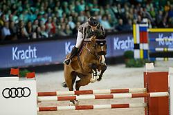 Fredricson Peder, SWE, Hansson WL<br /> The Dutch Masters<br /> Indoor Brabant - 's Hertogen bosch 2018<br /> © Dirk Caremans<br /> 10/03/2018
