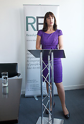 """Rachel Reeves MP  - Resolution Foundation event. <br /> Labour MP Rachel Reeves during a Resolution Foundation event """"The Labour agenda for tackling low pay"""", London, United Kingdom, Wednesday, 4th September 2013. Picture by Elliot Franks / i-Images."""
