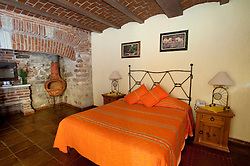 North America, Mexico, Guanajuato State, Guanajuato, Hotel Antiguo Vapor.  PR