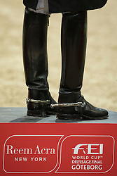 Podium<br /> Reem Acra FEI World Cup Final Goteborg 2013<br /> © Dirk Caremans
