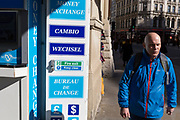 As the UK government lead by Prime Minister Boris Johnson urges Britons to avoid non-essential travel to EU countries, and to avoind contact with others in public places like pubs and theatres during the Coronavirus pandemic, Londoners and visitors keep calm and carry on with everyday activities, on 16th March 2020, in London, England.