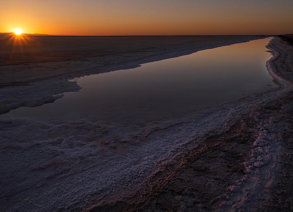 Tunisia - Chott El Jerid sunrise