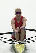 2002 FISA World Cup. Hazewinkel. BEL.       Friday  14/06/2002     .email images@Intersport-images.com.[Mandatory Credit: Peter Spurrier/Intersport Images]  .                                 /06/2002.Rowing. ..GBR LW1X Kirsten McClelland-Brooks Rowing, FISA WC.Hazenwinkel, BEL