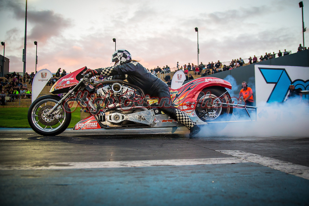 Mark Drew - 2987 - Wildcard Racing - Perth Harley Davidson - Top Fuel Motorcycle (TFM/T)