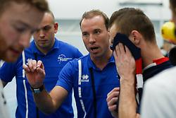 20181103 NED: Eredivisie, Sliedrecht Sport - Abiant Lycurgus: Sliedrecht<br />Paul van der Ven, headcoach of Sliedrecht Sport<br />©2018-FotoHoogendoorn.nl / Pim Waslander