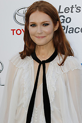 BURBANK, CA - OCTOBER 22: Actress Darby Stanchfield attends the 26th annual EMA Awards presented by Toyota and Lexus and hosted by the Environmental Media Association at Warner Bros. Studios on October 22, 2016 in Burbank, California. Byline, credit, TV usage, web usage or linkback must read SILVEXPHOTO.COM. Failure to byline correctly will incur double the agreed fee. Tel: +1 714 504 6870.
