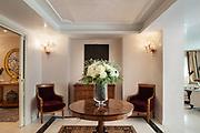 Interior of a luxury mansion, sitting room