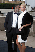 l to r: Kanye West and Amber Rose arrives at The Metropolitan Opera's 125th Anniversary Gala and Placido Domingo's 40th Anniversary Celebration underwritten by Yves Saint Laurent held at The Metropolitian Opera House, Lincoln Center on March 15, 2009 in New York City.