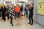 Prinses Máxima opent het WOMEN Inc Festival in de RAI, Amsterdam. WOMEN Inc. is een evenement dat vrouwen verbindt en hun ontplooiing bevordert en wordt gelijktijdig met de naastgelegen huishoudbeurs gehouden.<br /> <br /> Princess Maxima opens the WOMEN Inc Festival at the RAI, Amsterdam. WOMEN Inc.. is an event that connects women and promotes their developmentWoman Inc.. is Simultaneously held with the adjacent household fair.<br /> <br /> Op de foto / On the photo<br />  Prinses Maxima komt aan / Prinses Maxima arrives