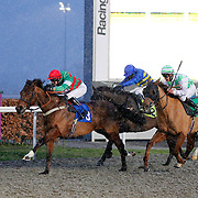 Time Square and Joey Haynes winning the 5.00 race