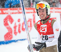 31.01.2016, Casino Arena, Seefeld, AUT, FIS Weltcup Nordische Kombination, Seefeld Triple, Skisprung, im Bild Franz-Josef Rehrl (AUT) // Franz-Josef Rehrl of Austria reacts after his Competition Jump of Skijumping of the FIS Nordic Combined World Cup Seefeld Triple at the Casino Arena in Seefeld, Austria on 2016/01/31. EXPA Pictures © 2016, PhotoCredit: EXPA/ Jakob Gruber