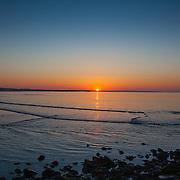 Today's  sunrise  at Narragansett Town Beach, Narragansett, RI,  May  15, 2013.