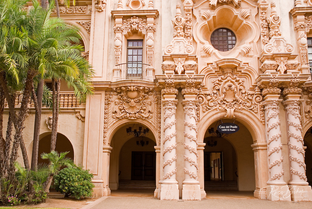 The Casa del Prado in Balboa Park, San Diego, California