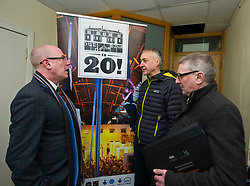 Pictured: Rob Hoon, manager Out of the Blue, Kevin Stewart and COSLA President David O'Neill<br /> The latest recipients of the Regeneration Capital Grant Fund were announced today during a visit to Out of the Blue in Edinburgh by Local Government Minister Kevin Stewart. Out of the Blue, on Leith Walk, is an arts and education trust that provides affordable spaces and resources to the local community.  The Minister was accompanied by COSLA President David O'Neill and Gavin Barrie, City of Edinburgh Council Education Convener, as he toured the premises that are set to be refurbished, helping Out of the Blue meet growing local demand.  The Regeneration Capital Grant Fund supports projects in disadvantaged areas that engage and involve local communities and is jointly funded by the Scottish Government and COSLA. <br /> <br /> <br /> Ger Harley | EEm 9 March 2017