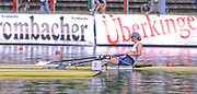 Munich, GERMANY   GBR W1X Katherine GRAINGER, 1998 FISA World Cup, Munich Olympic Rowing Course, 29-31 May 1998.  [Mandatory Credit, Peter Spurrier/Intersport-images] 1998 FISA World Cup, Munich, GERMANY