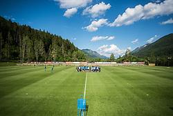 Stadium at Slovenia national football team during practice session, on June 3, 2019 in Kranjska Gora, Slovenia. Photo by Peter Podobnik/ Sportida