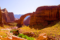 Rainbow Bridge National Monument, Lake Powell, Glen Canyon National Recreation Area, Arizona/Utah border USA