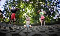 Sugeng Madeira, Daniela Garza & Teo Russo at the Monkey Forest, Ubud Bali