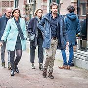 NLD/Amsterdam//20170309 - Herdenkingsdienst Guus Verstraete, ....