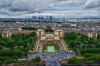 Le Trocadero & La Défense Skyline