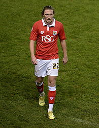 Bristol City's Luke Ayling - Photo mandatory by-line: Alex James/JMP - Mobile: 07966 386802 - 29/01/2015 - SPORT - Football - Bristol - Ashton Gate - Bristol City v Gillingham - Johnstone Paint Trophy Southern area final