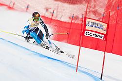21.01.2011, Tofana, Cortina d Ampezzo, ITA, FIS World Cup Ski Alpin, Lady, Cortina, SuperG, im Bild Carolina Ruiz Castillo (SPA, #2) // Carolina Ruiz Castillo (SPA) during FIS Ski Worldcup ladies SuperG at pista Tofana in Cortina d Ampezzo, Italy on 21/1/2011. EXPA Pictures © 2011, PhotoCredit: EXPA/ J. Groder