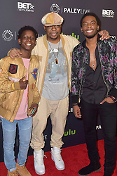 December 14, 2016 - Beverly Hills, Kalifornien, USA - Tyler Williams, Bobby Brown und Woody McClain bei der Premiere der BET TV-Miniserie 'The New Edition Story' im Paley Center for Media. Beverly Hills, 14.12.2016 (Credit Image: © Future-Image via ZUMA Press)