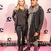 NLD/Amsterdam/20170321 - Chantal Janzen lanceert mediaplatform &C, Dinand Woesthoff en partner Lucy Hopkins
