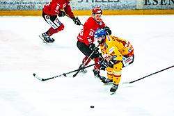 Casetti Loreno Alps League Ice Hockey match between HDD SIJ Jesenice and Migross Supermercati Asiago Hockey on April 17, 2021 in Ice Arena Podmezakla, Jesenice, Slovenia. Photo by Peter Podobnik / Sportida