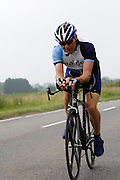 UK, Chelmsford, 28 June 2009: KEVIN BUNTON (V) MALDON & DISTRICT.C.C. completed the E9 / 25 course in 1 hour 7 mins 08 secs. Images from the Chelmer Cycle Club's Open Time Trial Event on the E9 / 25 course. Photo by Peter Horrell / http://peterhorrell.com .