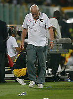 Photo: Steve Bond/Richard Lane Photography.<br />Ghana v Cameroon. Africa Cup of Nations. 07/02/2008. Otto Pfister paces the touchline during the tense final moments