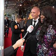 NLD/Utrecht/20200209 - Start inloop Tina Turner musical, Berget lewis en partner Maik Galenkamp